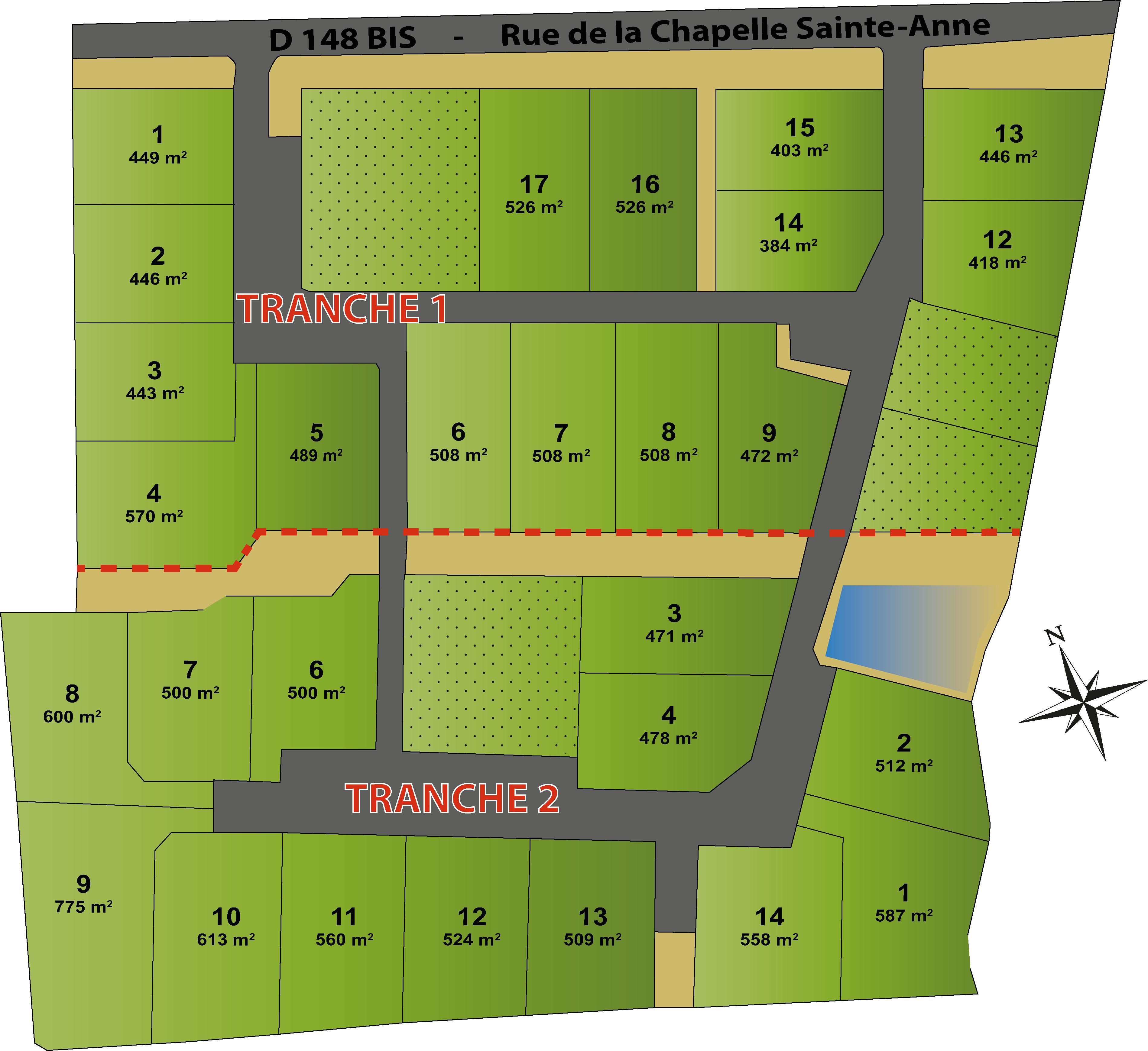 DOMAINE DE LA LANDE - Tranche 1